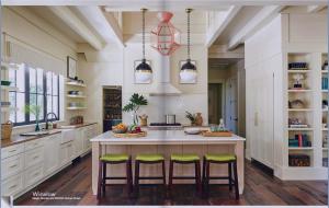 kitchen-cabinets-in-ellijay-ga-cream-kitchen-blush-island-lime-seat cushions